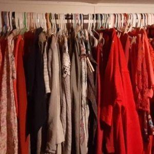 Plus size clothes reseller box lots 25 pieces